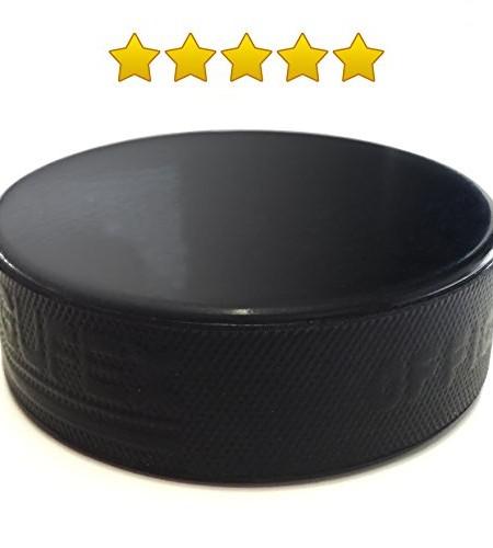 -Eishockey-Puck-Senior-Official-IIHF-Erwachsene-Hockey--ideal-auch-als-Wagenheber-Gummiauflage-0
