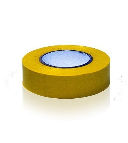 1-Rolle-19mm-x-20m-Gelb-PVC-Sport-Band-Fuball-Hockey-Rugby-0