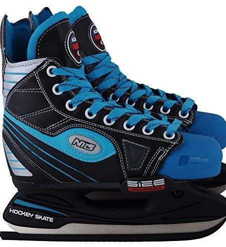 Abisal-Hockey-Schlittschuhe-fr-Kinder-Jugendliche-Nils-NH-501A-grenverstellbar-schwarz-und-blau-32-35-0