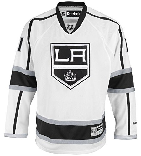 Anze-Kopitar-Los-Angeles-Kings-White-Reebok-NHL-Premier-Jersey-Trikot-0