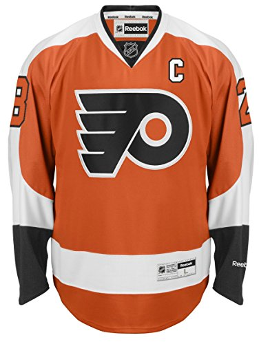 Claude-Giroux-Philadelphia-Flyers-Orange-Reebok-NHL-Premier-Jersey-Trikot-0