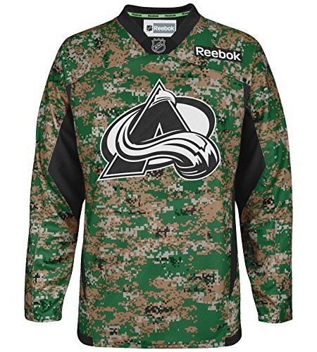Colorado-Avalanche-Reebok-NHL-Edge-Camouflage-Pre-Game-Warm-Up-Jersey-Trikot-0