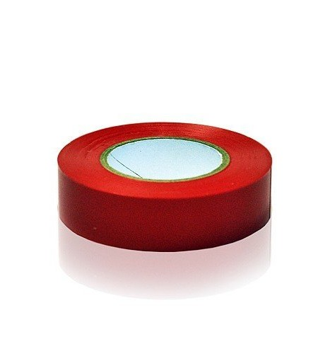 Ultratape-1-Rolle-19mm-x-20m-Rot-PVC-Sport-Band-Fuball-Hockey-Rugby-0
