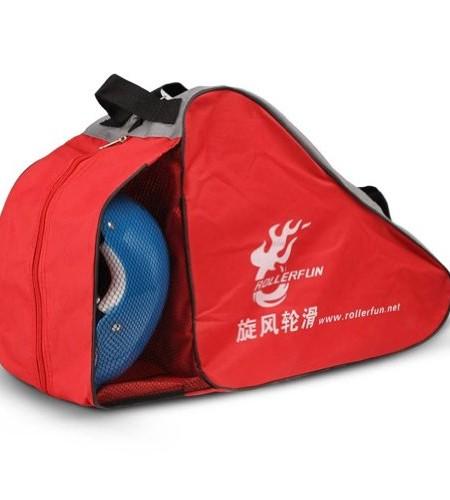Kinder-Roller-Carry-Skate-Skate-Bag-Sack-Rollschuh-Derdy-Tote-Rot-0