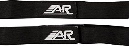 AR-Hockey-Velcro-Shin-Straps-Heavy-Woven-Elastic-Color-Coded-Junior-Black-0