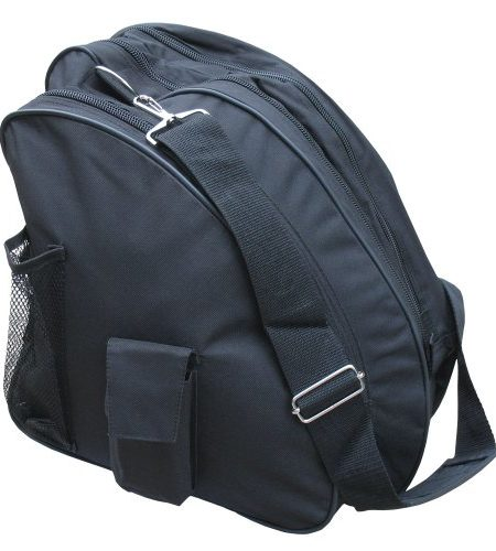 AR-Deluxe-Ice-Figure-Skate-Carry-BagRoller-BladeIn-Line-Bag-WShoulder-Strap-Black-5-0