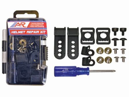 AR-Sports-Universal-Hockey-Helmet-Repair-Parts-Kit-w-Screws-Clips-Buckles-Nuts-0