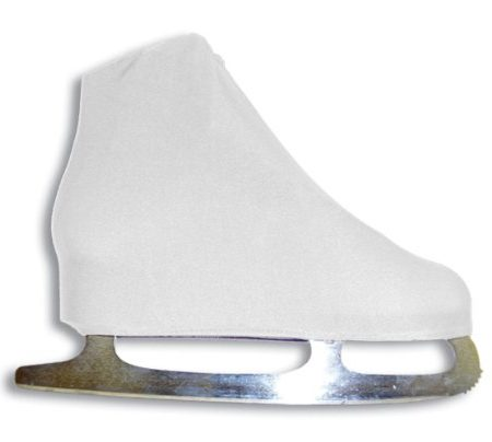 AR-Universal-Figure-Skate-Cover-Lycra-Stretch-Ice-Skate-Boot-Cover-White-5-SCW-0