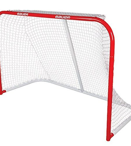 Bauer-Deluxe-REC-Steel-Goal-54-x-44-Inch-Red-by-Bauer-0