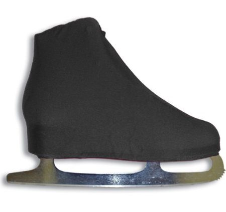 AR-Universal-Figure-Skate-Cover-Lycra-Stretch-Ice-Skate-Boot-Cover-Choose-Color-Black-5-0