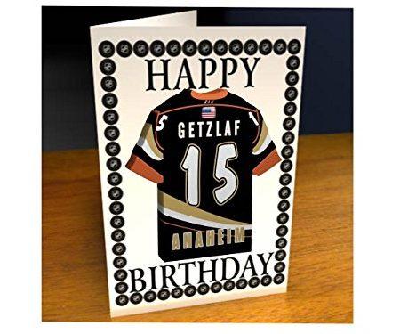 NHL-National-Hockey-League-Eishockey-Jersey-Khlschrank-Magnet-Geburtstagskarte--NHL-Western-Conference--Jeder-Name-beliebige-jedes-Team-kostenlose-Personalisierung-0