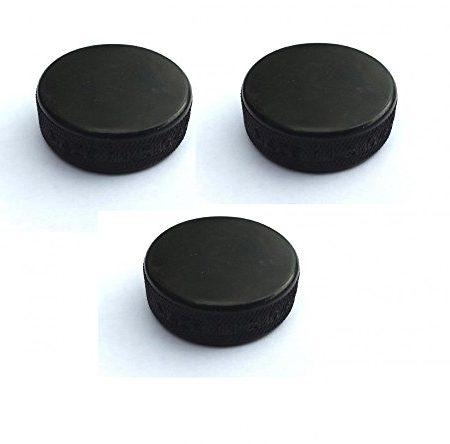 3x-Minipuck-Puck-schwarz-20g-370-cm-0