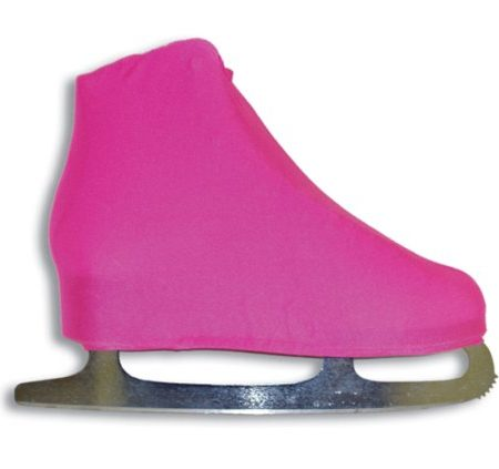 AR-Universal-Figure-Skate-Cover-Lycra-Stretch-Ice-Skate-Boot-Cover-Neon-Pink-9-0