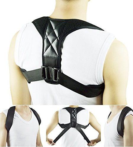 Haltung-Corrector-Clavicle-Support-Brace-fr-Frauen-Mnner-Verbesserung-der-schlechten-Haltung-Thorax-Kyphose-Schulter-Ausrichtung-Obere-Rckenschmerzen-Relief-fr-Haus-und-Bro-0