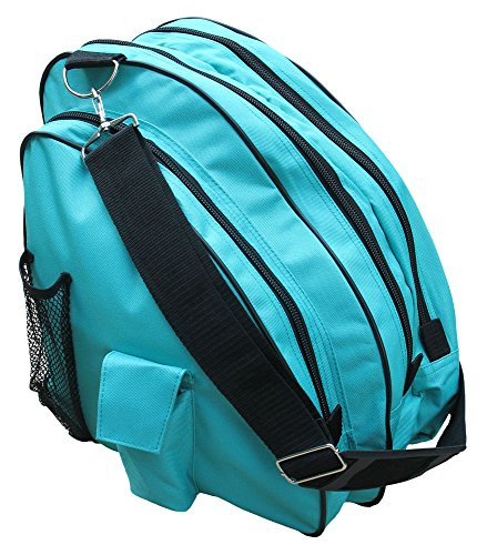 AR-Deluxe-Ice-Figure-Skate-Carry-Bag-Roller-Blade-In-Line-Bag-Turquoise-9-0