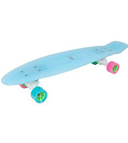 HUDORA-Skateboard-Retro-Iceglow-27-Zoll-LED-beleuchtet-Skateboarding-12144-0
