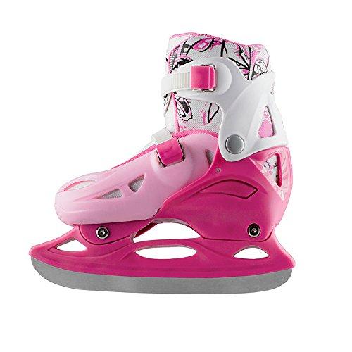 kinder schlittschuhe nils extreme girly gr 31 38 verstellbar pink schlittschuhe kaufen. Black Bedroom Furniture Sets. Home Design Ideas