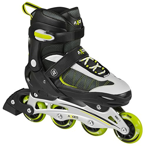 axces flash ii neon 2 in 1 kinder inliner inlineskates. Black Bedroom Furniture Sets. Home Design Ideas