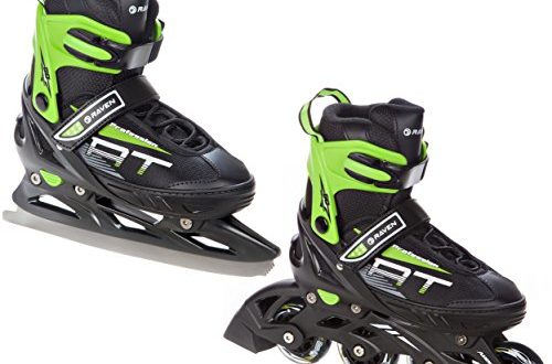 raven 2in1 schlittschuhe inline skates inliner profession. Black Bedroom Furniture Sets. Home Design Ideas